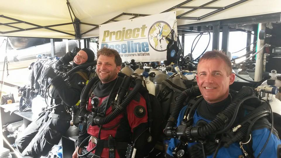 Andreas, Kirill, and Jarrod on the Pacific Provider -- Image courtesy of Brian Kakuk