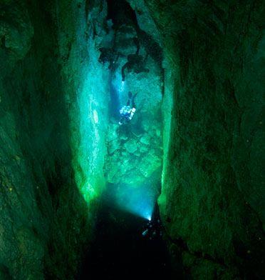 Stargate Cave, Andros Island, Bahamas -- Photo courtesy of GUE