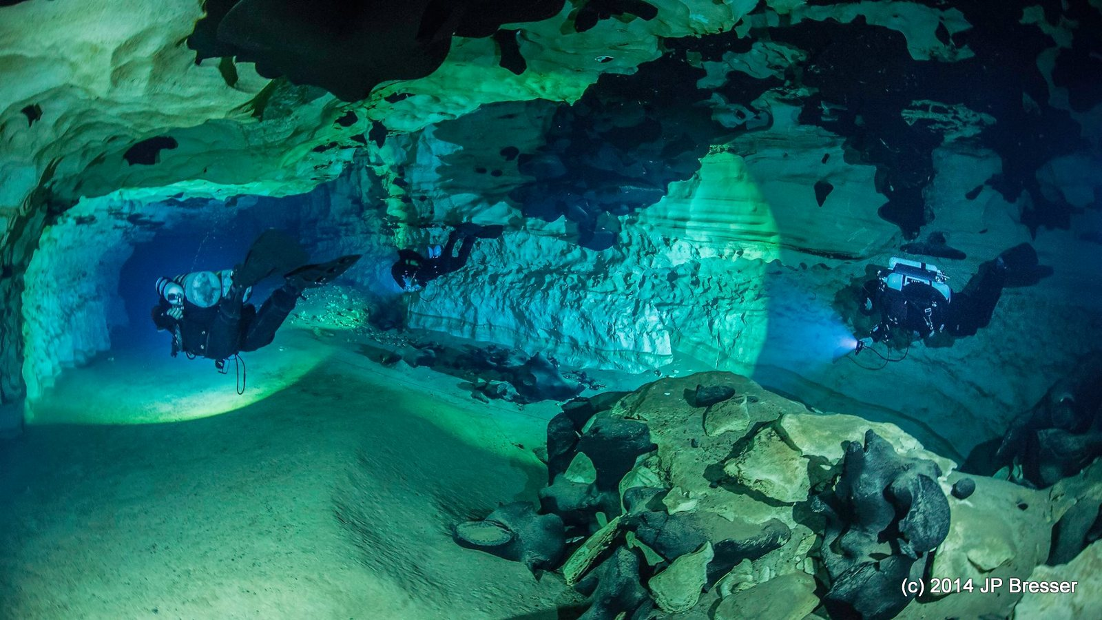 Indian Springs cave diving